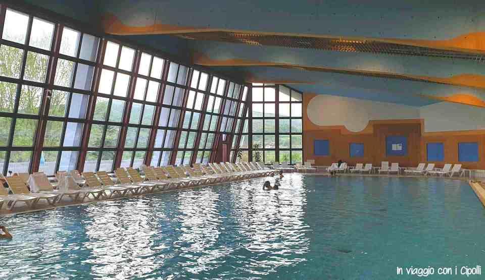 piscina interna hotel terme catez slovenia