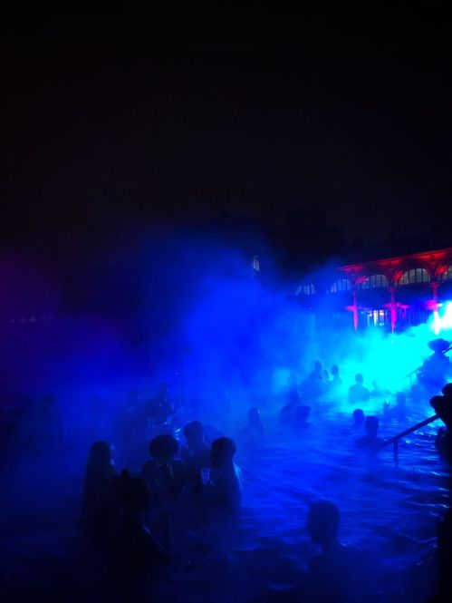 SpartyBudapest, un pool party top