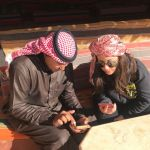 Un campo tendato speciale, la mia notte in Giordania