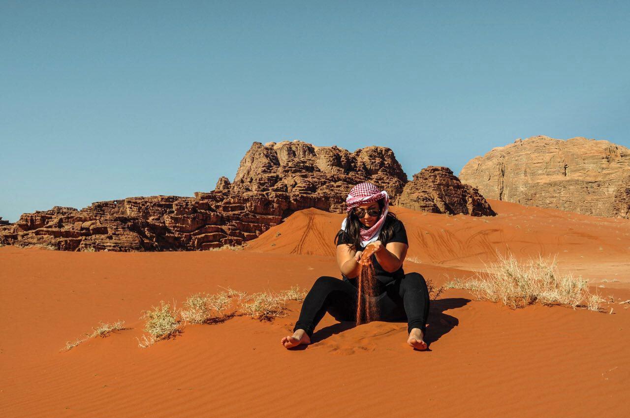 Attrezzarsi per dormire nel Wadi Rum