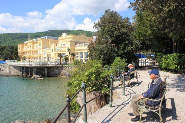 Viaggio a Opatija, Hotel Kvarner (Croazia)