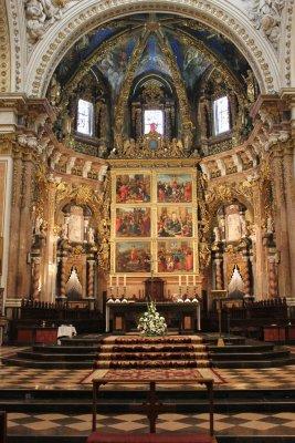 Viaggio a Valencia, veduta interna della Cattedrale (Spagna)