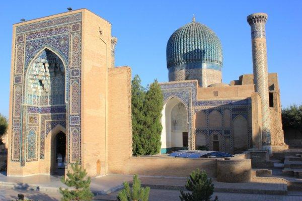 Viaggio in Uzbekistan, Mausoleo Gur-e-Amir a Samarcanda (Uzbekistan)