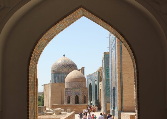 Mausoleo di Shah-i-Zinda (Samarcanda, Uzbekistan)