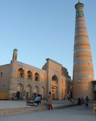 Minareto Islom Hoja (Khiva, Uzbekistan)