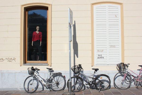 Per il centro di Lubiana si gira in bicicletta (Slovenia)