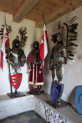Armatura degli Ussari Alati, castello di Bobolice (Polonia)