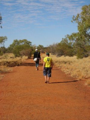 Base Walk ad Uluru (Ayers Rock, Australia)