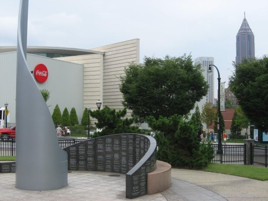 Viaggio ad Atlanta, Centennial Olympic Park (Stati Uniti)