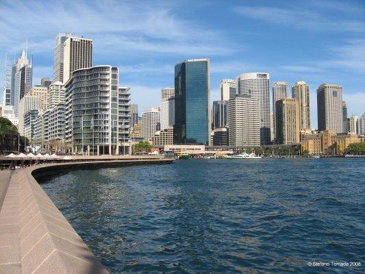 Viaggio in Australia, Circular Quay a Sydney