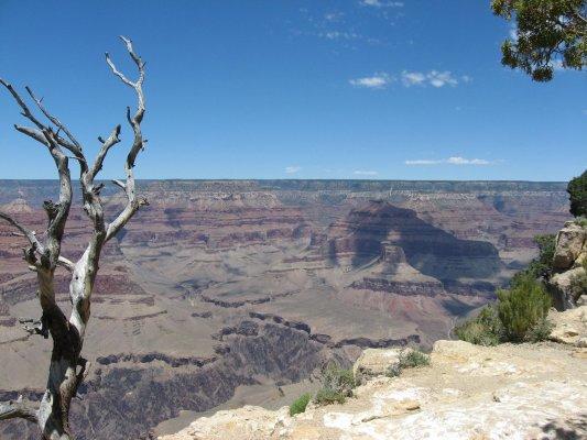 Tour dei Parchi, panorama da Hopi Point sul Grand Canyon (Arizona, Stati Uniti)