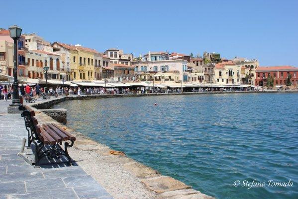 Il vecchio porto veneziano di Chania (Creta, Grecia)