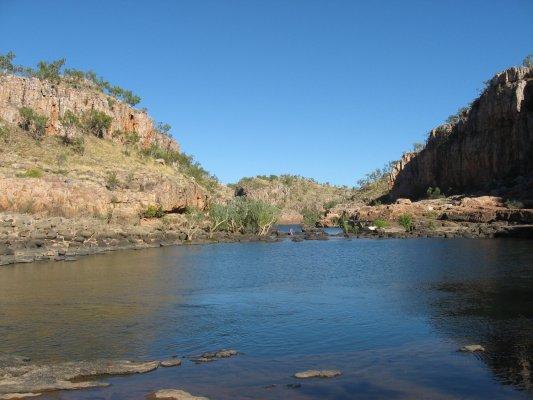 Viaggio in Australia, escursione sul Katherine River nel Nitmiluk National Park (Northern Territory)