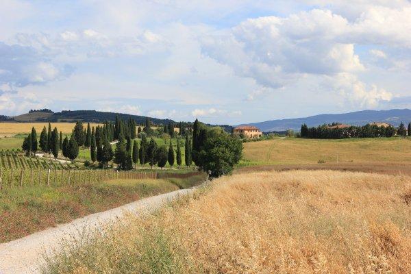 Viaggio in Val d'Orcia, tra Pienza e Monticchiello (Toscana, Italia)