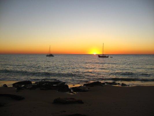 Viaggio in Australia, tramonto a Cape Leveque (Western Australia, Australia)