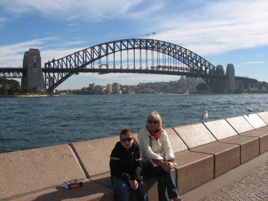 Viaggio a Sydney, Harbour Bridge (New South Wales, Australia)