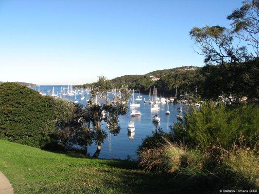 Viaggio a Sydney, panorama sulla baia di Manly (New South Wales, Australia)