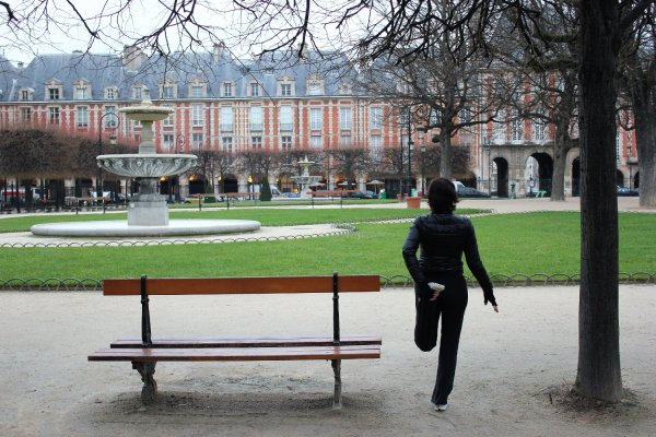 Viaggio a Parigi, place des Vosges (Francia)