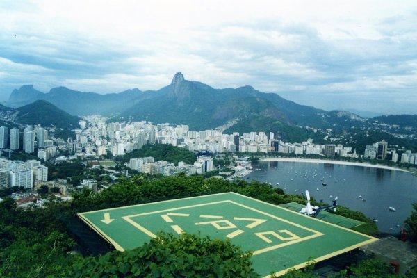 Viaggio a Rio de Janeiro, la baia di Botafogo vista dal Pan di Zucchero (Brasile)