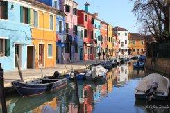Escursione a Burano, passeggiando per le rive e fondamenta (Veneto)