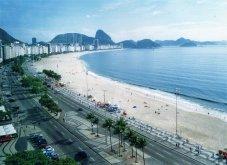 Viaggio in Brasile, spiaggia di Copacabana a Rio de Janeiro