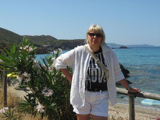Viaggio in Sardegna, spiaggia di Masua (Italia)