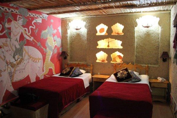 Stanza da letto nel Amelia Boutique Hotel di Bukhara in Uzbekistan