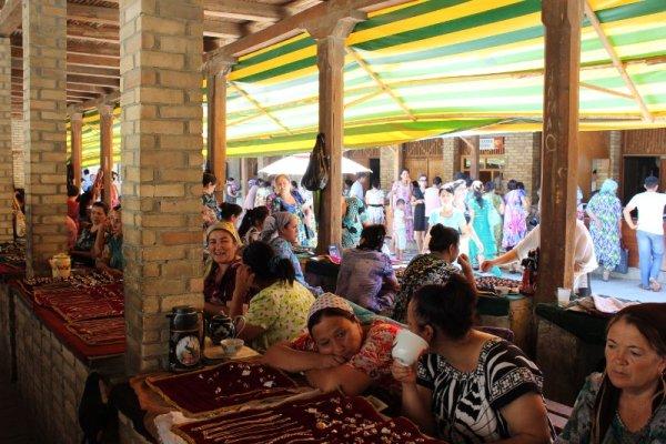 Bazar gioielli Bukhara