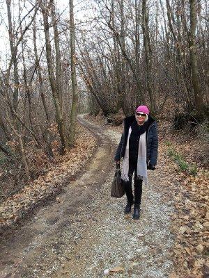Sentiero Vigne Alte bosco