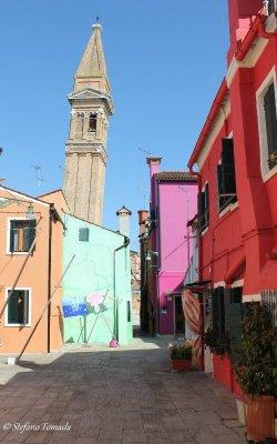 campanile storto isola Burano