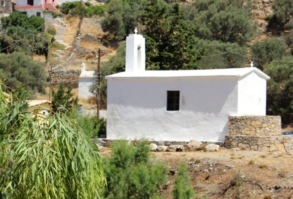 Chiesa Vergine Maria Hóra Sfakíon Creta