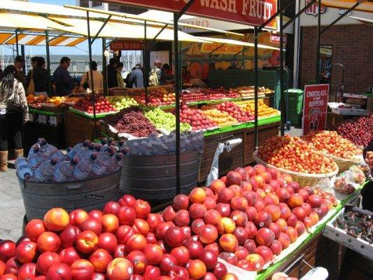 Mercato frutta verdura San Francisco