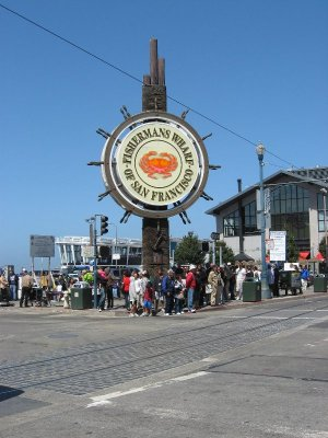 Ingresso Fisherman's Wharf San Francisco
