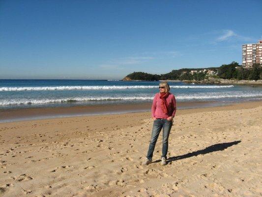 La spiaggia di Manly nei pressi di Sydney in Australia