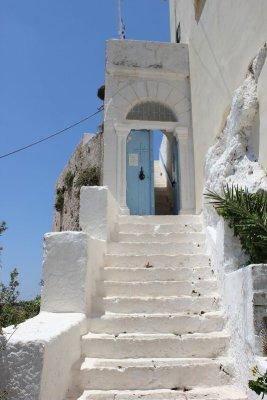 Ingresso monastero Moní Hrysoskalítissas Creta