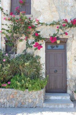 Cortile monastero Préveli Creta