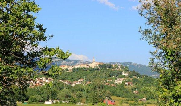 Panorama Buzet Pinguente Istria