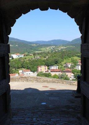 Panorama da Buzet Istria Pinguente