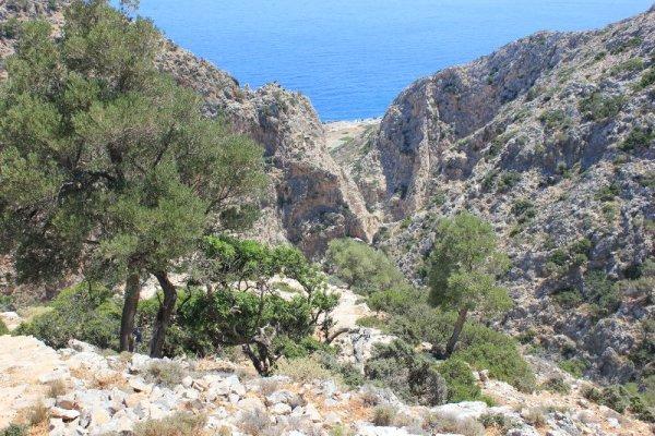 Trekking nella penisola di Akrotíri a Creta