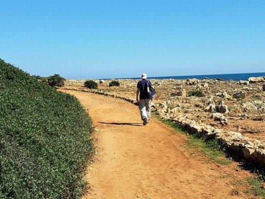 Escursione lungo il sentiero arancio nella Oasi Faunistica di Vendicari