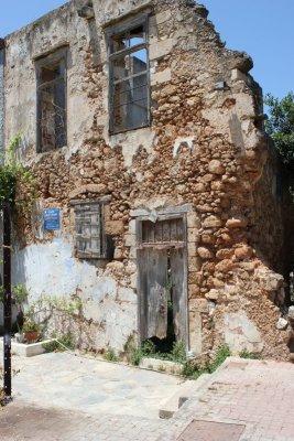 Ruderi abitazione vecchia Chania