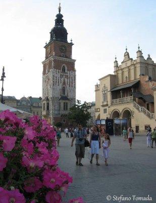 Wieża Ratuszowa torre municipio Cracovia