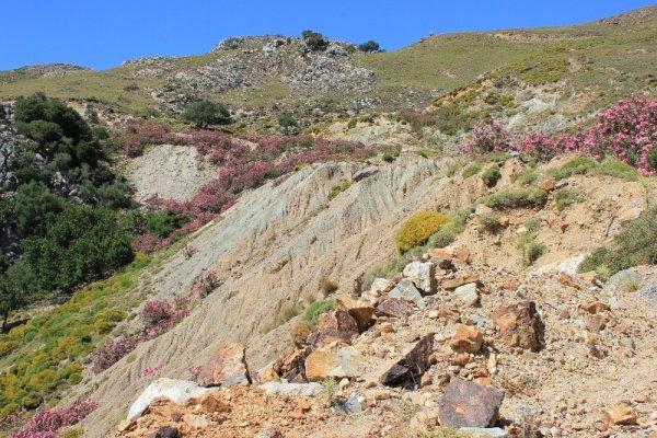 Panorama valle Amári Creta