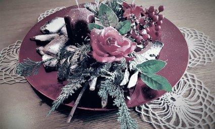 Centrotavola natalizio casa Polonia