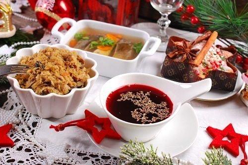 Cena Vigilia Natale Polonia