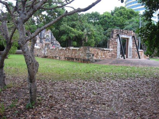 Rovine edificio Darwin