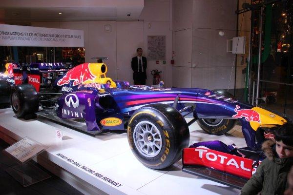 Infiniti Red Bull Renault di Formula 1 2013