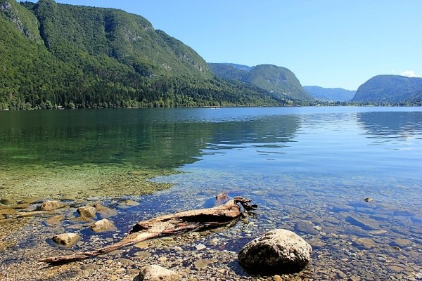 Lago Bohinj Slovenia
