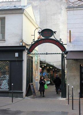 Ingresso Marché des Enfants Rouges Parigi