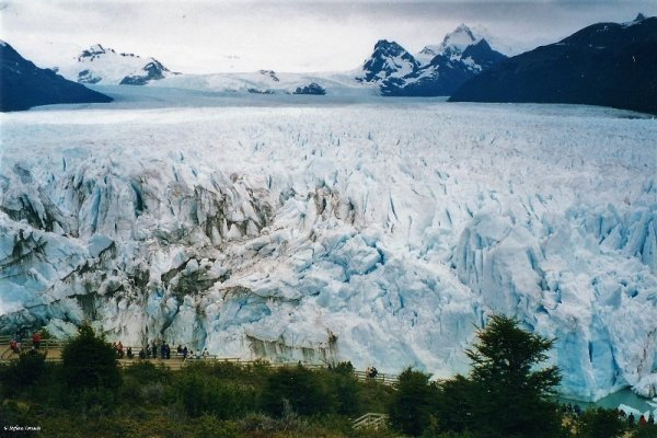 Il ghiacciaio Perito Moreno in Argentina